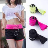 隱形手機包運動腰包女春夏新款跑步腰包男多功能裝備健身貼身小包-奇幻樂園