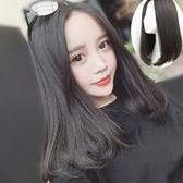 中長假髮(整頂假髮)-中分蓬鬆氣質直髮女假髮4色73vl22【時尚巴黎】