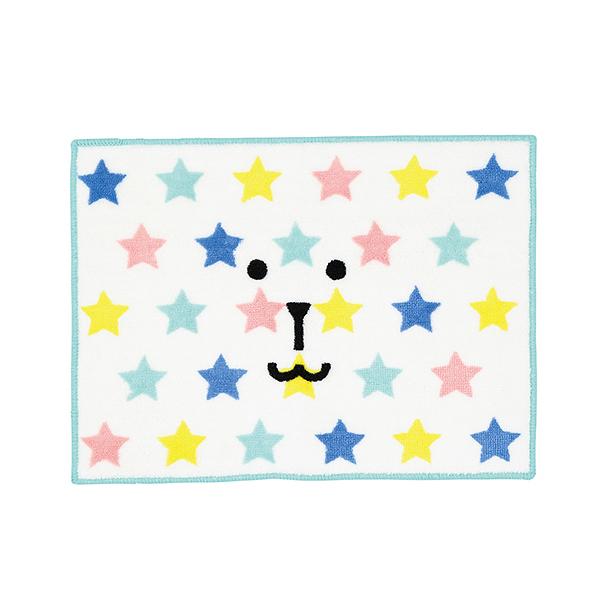 宇宙人 經典 地毯 地墊 星星兔兔 日本正版 INITIAL craftholic 該該貝比日本精品 ☆