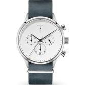【台南 時代鐘錶 TYLOR】自由探索精神 風格多變三眼計時腕錶 TLAE001 皮帶 41mm