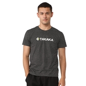 【TAKAKA】男 印花彈性T恤『深灰』M51776 吸濕快乾 露營.戶外.吸濕.排汗.透氣.快乾.輕量