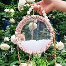 編織包成品手工編織包包diy材料包亞克力透明斜挎包 花樣年華