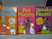 【書寶二手書T3/語言學習_MPW】Silly Poems_Pet Poems等_共3本合售