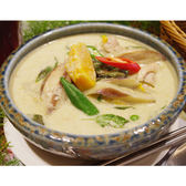 【喜樂魚家庭廚房】綠咖哩蔬食x1包 (370g/包)~熟食泰式咖哩料理包