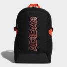 L- adidas POWER GRAPHIC BACKPACK 後背包 黑橘 運動 後背包 雙肩包 FM6905