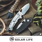 CRKT BATUM COMPACT 不鏽鋼折刀-5451.口袋摺疊刀具 EDC隨身刀 G10露營刀 戶外求生刀 隨身工具