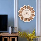 創意個性臥室客廳裝飾掛鐘表靜音