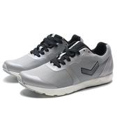 PONY 灰銀 條紋LOGO 網布 輕量 慢跑 男女(布魯克林) 73W1FF81GR 73M1FF81GR