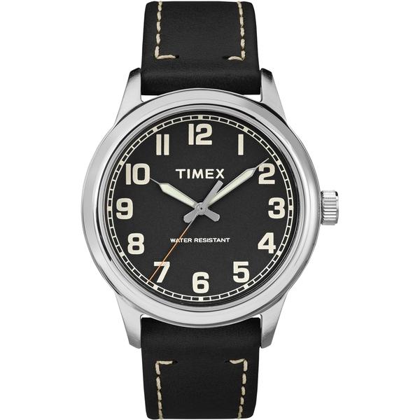 【TIMEX】天美時 風格系列 極簡手錶(黑 TXTW2R22800)