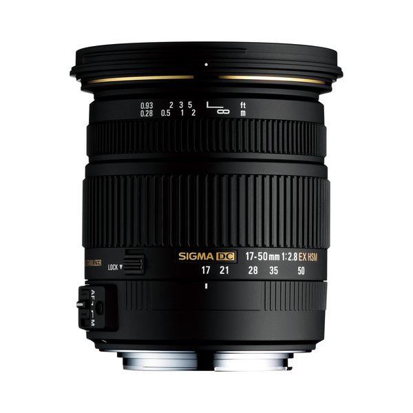 【聖影數位】SIGMA 17-50mm F2.8 EX DC OS HSM APS-C專用鏡頭 (恆伸公司貨 三年保固)