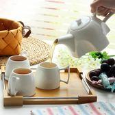創意帶木托盤咖啡具套裝英式下午茶茶具套裝