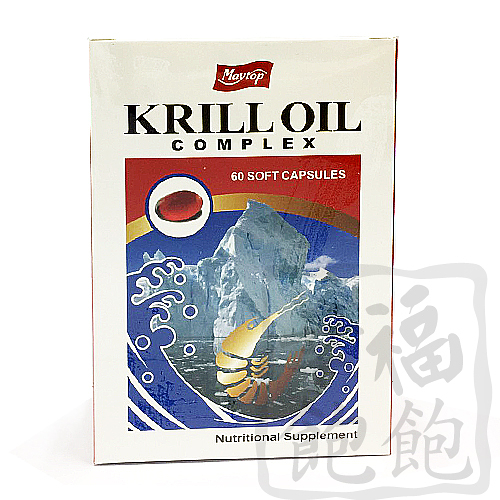 美朵南極磷蝦油複方軟膠囊60粒