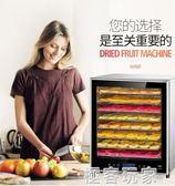 烘乾機 食品家用小型果蔬大型乾果機商用水果茶食物風乾機 igo 電壓:220v『極客玩家』