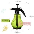 澆水壺 手動氣壓式透明噴壺澆花灑水澆水壺小型噴霧器園藝工具家用噴霧瓶 2色