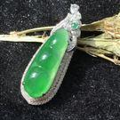 翡翠 彩鑲珠寶 緬甸A貨  老坑玻璃種帝...