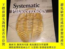 二手書博民逛書店Journal罕見of systematic Palaeonto