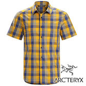 Arc''teryx 始祖鳥 Brohm 透氣格子短袖襯衫 男『橘/紫』17217 休閒襯衫│商務襯衫│吸濕排汗