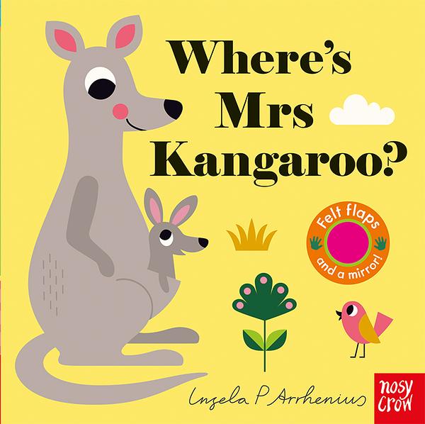 Where's Mrs Kangaroo? 袋鼠太太在哪裡? 不織布翻翻書