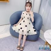 夏季時尚女童洋裝 兒童中大童連身裙 2020夏裝新款韓版小女孩公主裙 TR103【男神港灣】