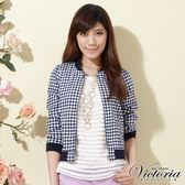 Victoria 格紋短版小外套-女