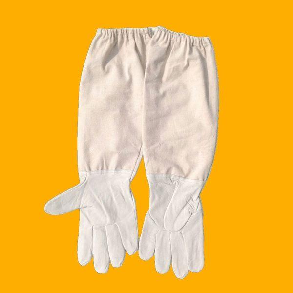 羊皮手套 防蜜蜂蟄刺 防割 養蜂專用防護服 蜂衣 【免運】 LX