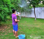 園藝長桿噴槍噴壺往復式農用噴霧器打藥洗車消毒不銹鋼澆花灑水器igo『韓女王』