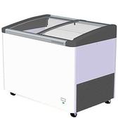 德國利勃 LIEBHERR 270公升 弧型玻璃推拉冷凍櫃 EFI-2753 ( 附LED燈)