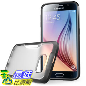 [104美國直購] 手機套 Galaxy S6 Case, SUPCASE Case for Samsung Galaxy S6 Package (Frost Clear/Black)