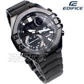 EDIFICE 藍牙智慧錶 賽車錶 不鏽鋼 男錶 IP黑電鍍 ECB-10DC-1A CASIO卡西歐 ECB-10DC-1ADF