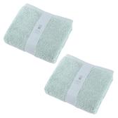 (組)土耳其純棉浴巾綠78x140cm x2