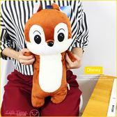 《最後1個》奇奇蒂蒂 正版 迪士尼 長型抱枕 絨毛娃娃 情人節禮物 玩偶 50cm D12186