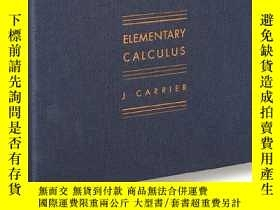 二手書博民逛書店Elementary罕見CalculusY255562 J Carrier Mack 出版2012