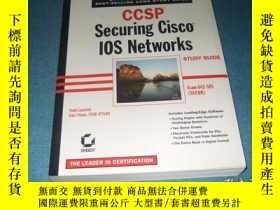 二手書博民逛書店ccsp罕見securing cisco 10s network