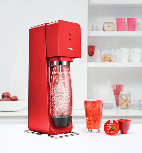 英國SodaStream Source氣泡水機 添加糖漿或果汁即成各式汽水/調酒 【刷卡分期+免運費】