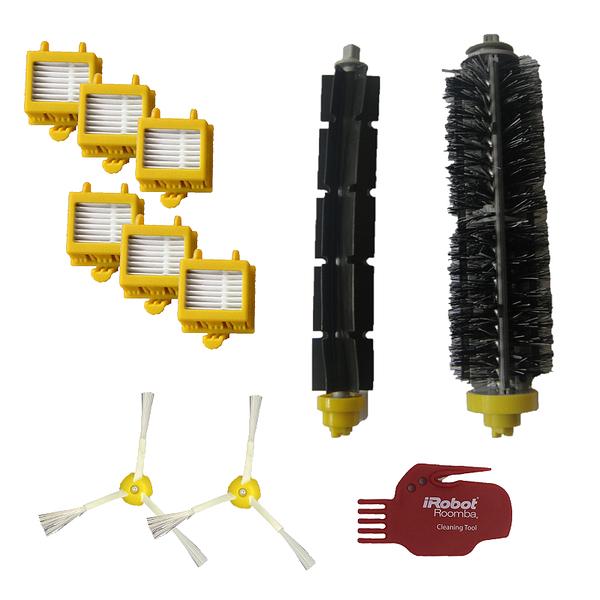 【保證iRobot原廠】iRobot Roomba 700 系列 HEPA Replenishment Kit 膠毛刷濾網套件組