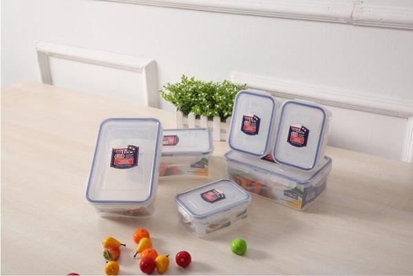 樂扣樂扣保鮮盒塑膠微波爐飯盒密封盒便攜便當盒水果盒六件套 ATF 安妮塔小铺