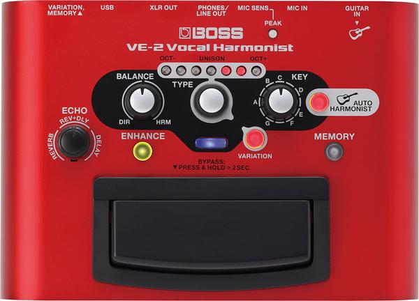 凱傑樂器 BOSS VE-2 Vocal Echo 人聲 和聲 主唱 人聲效果器