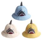 鯊魚遮陽盆帽子 男女童卡通兒童漁夫帽 小孩子防曬太陽帽 88285