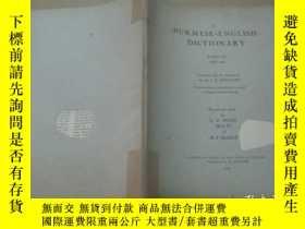 二手書博民逛書店Burmese罕見english dictionary part