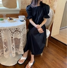 洋裝~連身裙~短袖洋裝~美背 法式宮廷風 串珠裝飾 凈版連身裙5339.KK107A愛尚布衣