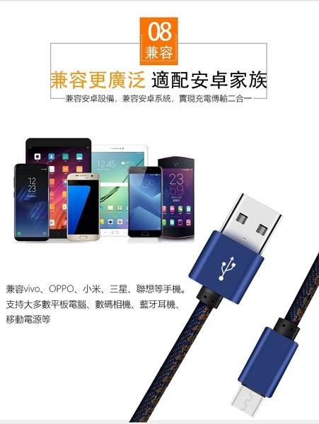 安卓(micro usb) 手機充電線/傳輸線/數據線 1M