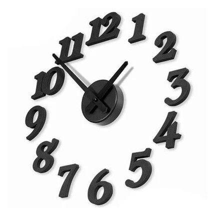 ►全館5折►壁貼時鐘 數字掛鐘 藝術趣味DIY壁鐘【A9008】