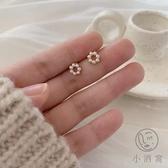 【買1送1】S925銀珍珠耳飾清新百搭迷你可愛耳釘女【小酒窝服饰】