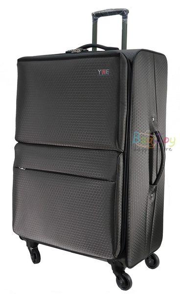 YUE 超輕量蜂巢紋布 加大輪 28吋行李箱 (YU-7228) MIT 台灣製
