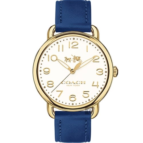 COACH 耀眼奪目時尚皮帶腕錶/14502718