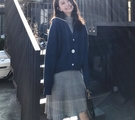 套裝裙 洋裝 外套 開衫網紅小香風毛衣裙...