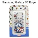 復仇者聯盟Q版透明軟殼 [美國隊長] Samsung G9250 Galaxy S6 Edge【正版授權】