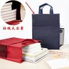 文件袋手提包牛津布公文包定制產檢資料收納...