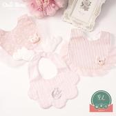 嬰兒圍嘴寶寶口水巾蕾絲邊兒童純棉圍兜【聚可爱】