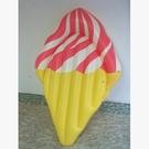 游泳圈充氣-彩色創意冰淇淋大型水上活動坐騎浮板73ez11【時尚巴黎】